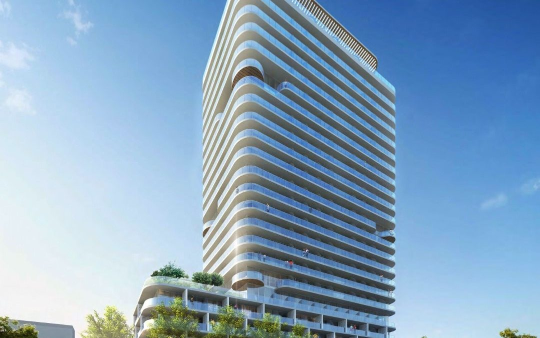 ARQUITECTONICA-DESIGNED 22-STORY CO-LIVING TOWER WITH MICRO UNITS PROPOSED IN NORTH BEACH