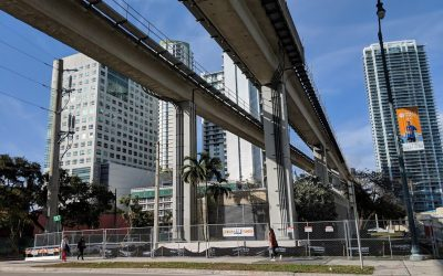 THE UNDERLINE IS NOW 80 PERCENT FUNDED AFTER GETTING FEDERAL FINANCING PLUS MATCHING GRANT FROM CORAL GABLES