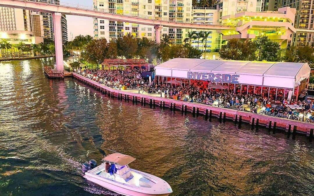 RIVERSIDE ENTERTAINMENT VENUE FINALLY OPENS IN BRICKELL, WITH THOUSANDS ATTENDING OPENING
