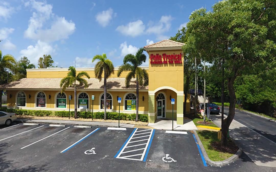 Pollo Tropical (NNN) Commercial Property  Sunrise, Florida