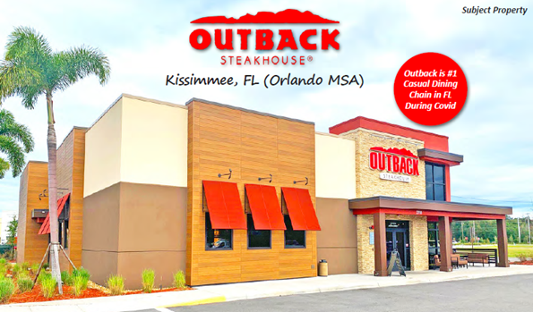 Outback Steakhouse (NNN) Kissimmee, Florida